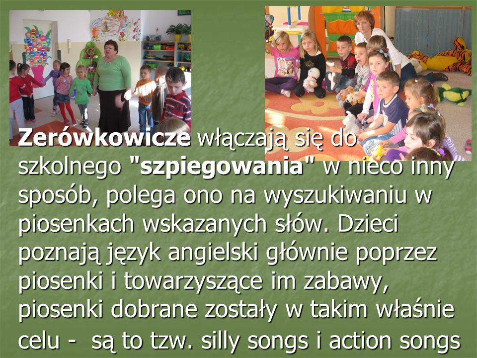 Dziękujemy pani Małgosi Noworycie za: Atrakcyjne Atrakcyjne Interesujące Interesujące Urozmaicone Urozmaicone zajęcia nauki języka angielskiego Uczestnicy programu