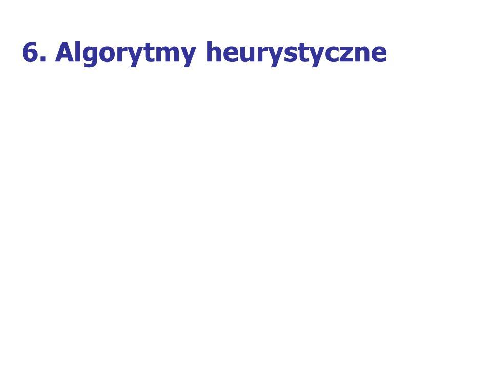 6. Algorytmy heurystyczne