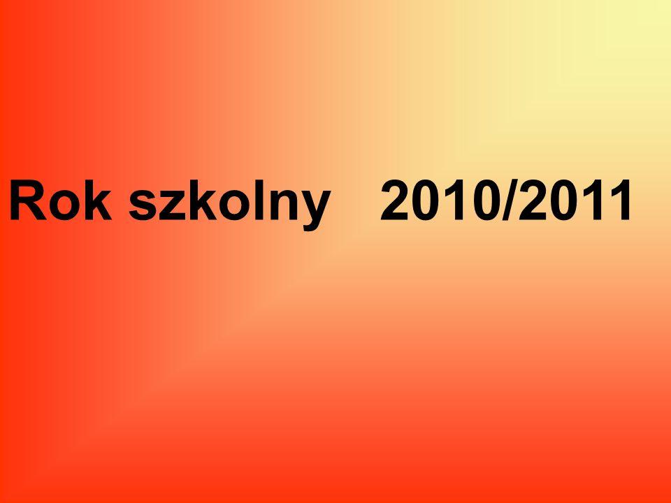Rok szkolny 2010/2011