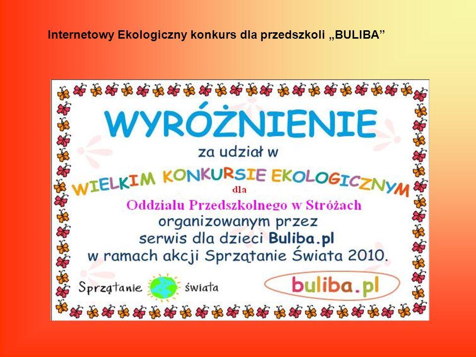 Internetowy Ekologiczny konkurs dla przedszkoli BULIBA