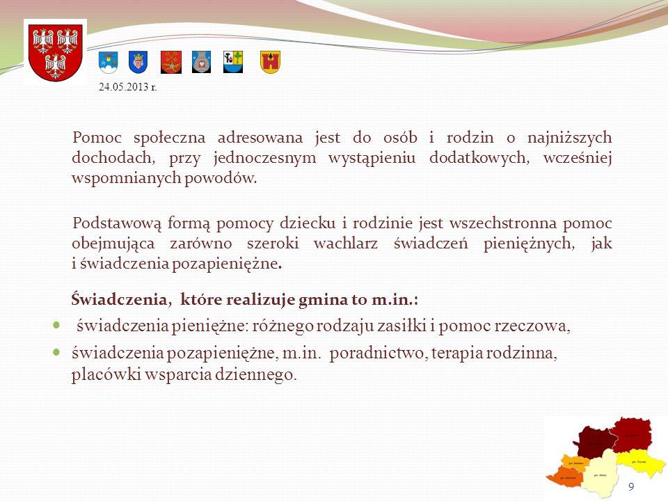 W Powiecie Olkuskim został opracowany i wdrożony do realizacji Powiatowy Program Rozwoju Pieczy Zastępczej na lata 2012–2014, z którym korelują Gminne Programy Wspierania Rodziny.