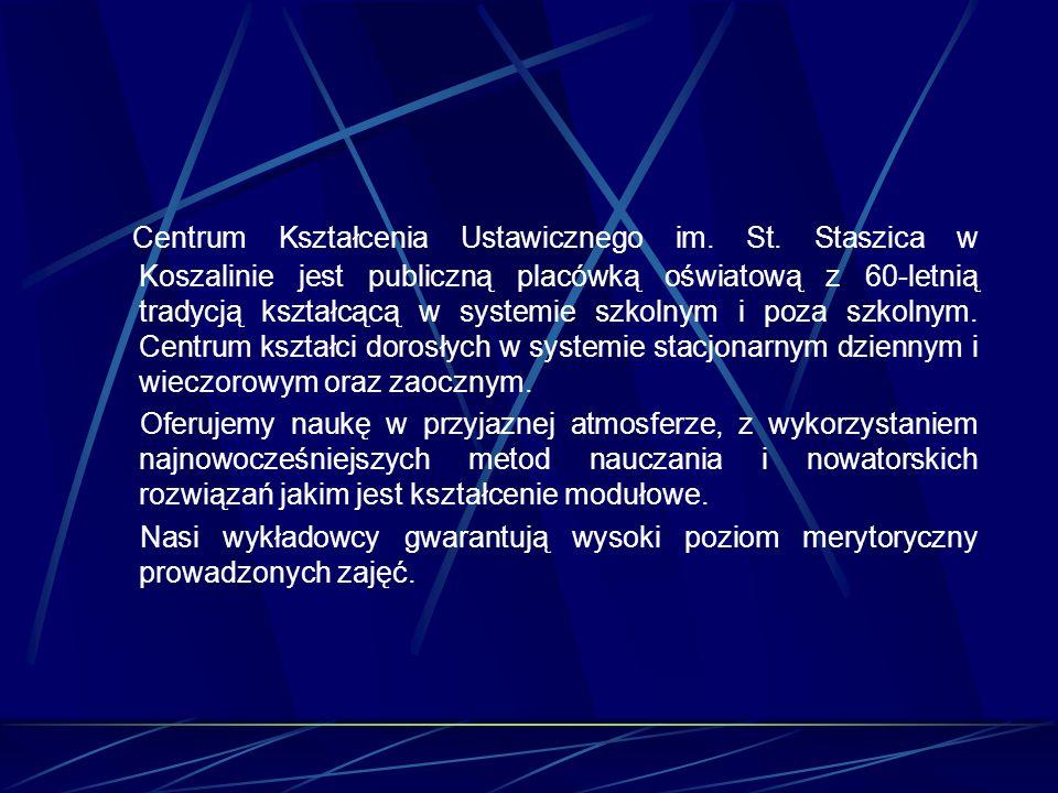 Centrum Kształcenia Ustawicznego im.St.