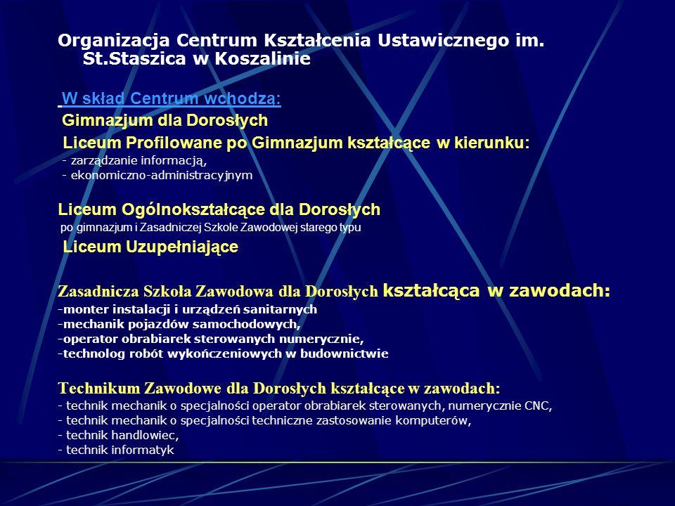 Centrum Kształcenia Ustawicznego im. St.