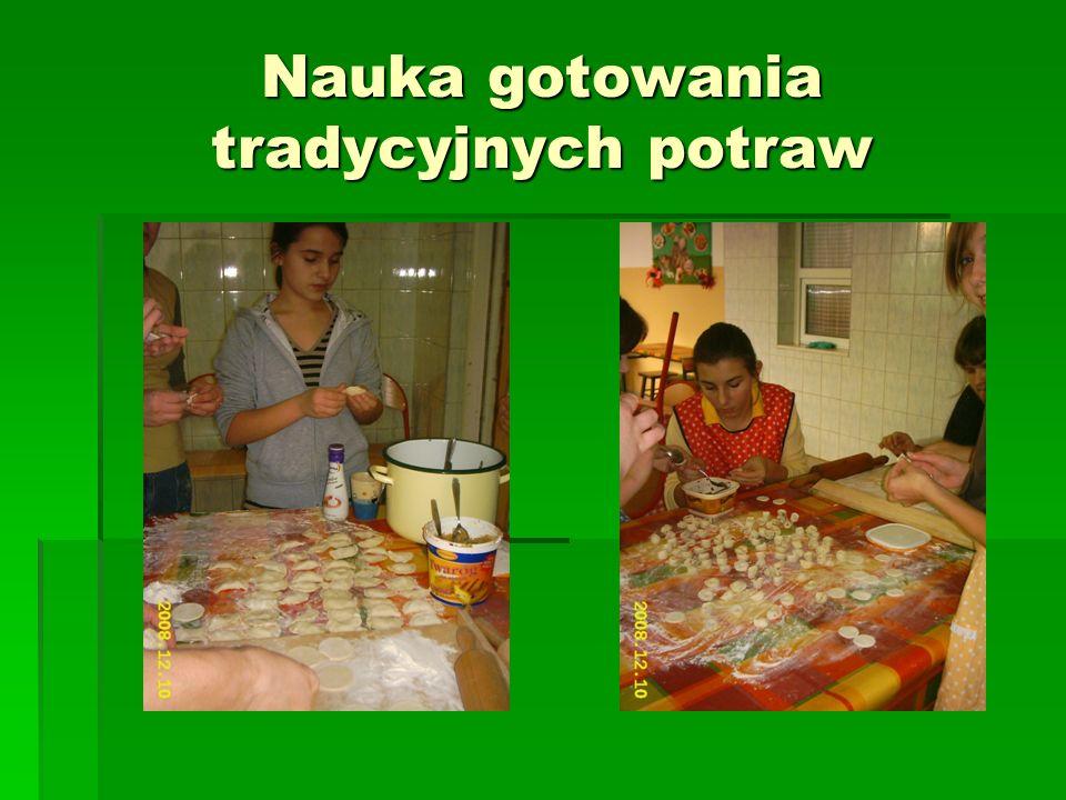 Nauka gotowania tradycyjnych potraw