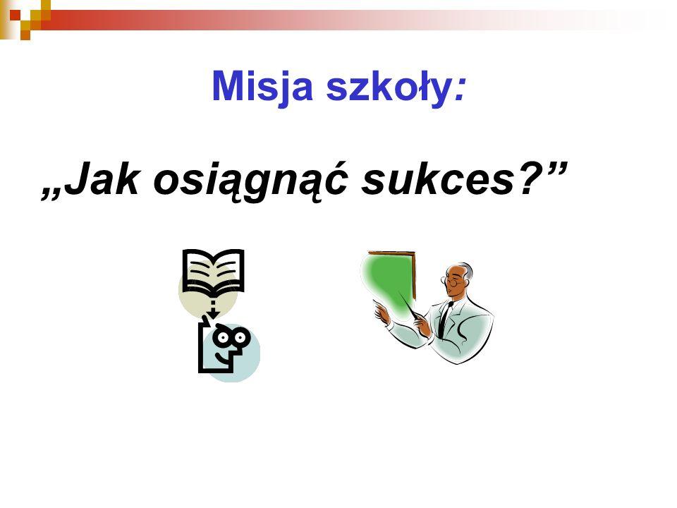 Misja szkoły: Jak osiągnąć sukces?