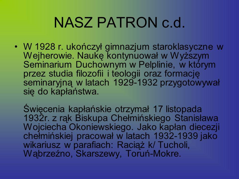 Symbole Godło ma kształt tradycyjnej tarczy szkolnej.