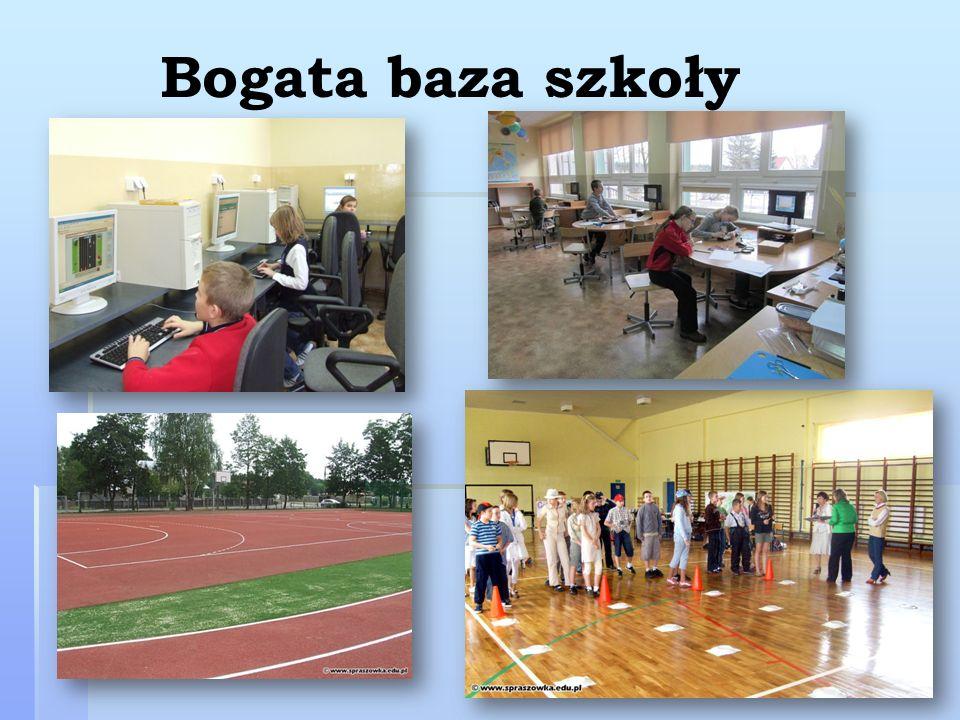Bogata baza szkoły