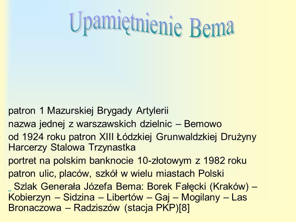 Pomnik gen.Józefa Bema w Budapeszcie.