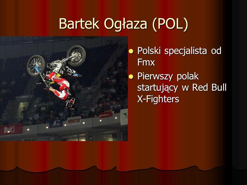 Danny Torres (ESP) Zwycięzca zawodów Red Bull X-Fighters w Polsce Zwycięzca zawodów Red Bull X-Fighters w Polsce