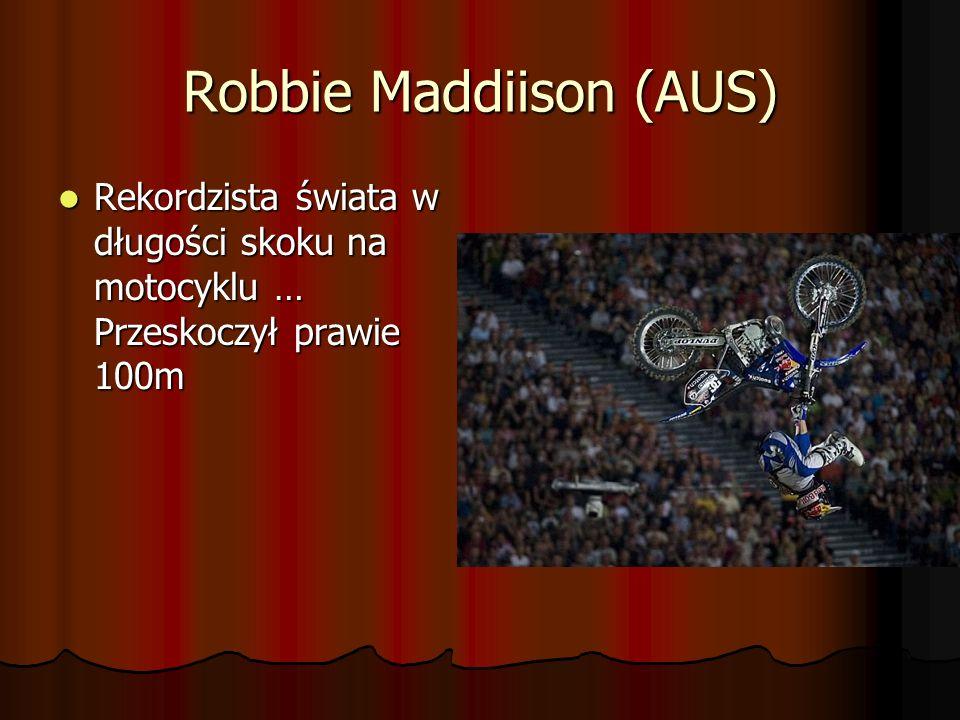 Mat Rebeaud (SUI) -Mistrz świata serii słynnych zawodów NNNN iiii gggg hhhh tttt o o o o ffff t t t t hhhh eeee J J J J uuuu mmmm pppp ssss roku 2005
