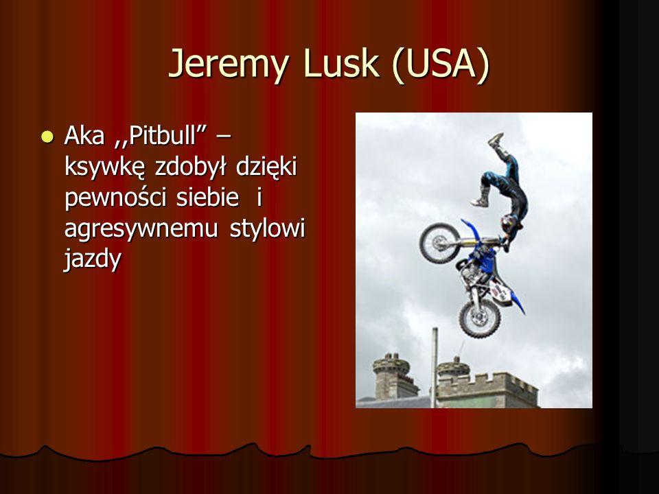 Jeremy Stenberg (USA) Zawodnik o niepowtarzalnym stylu jazdy Zawodnik o niepowtarzalnym stylu jazdy