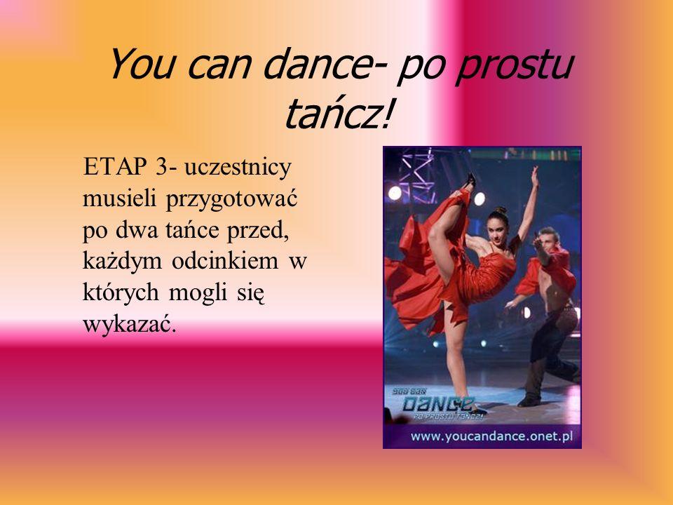 You can dance- po prostu tańcz! W Paryżu w wyniku eliminacji została wybrana ścisła szesnastka.