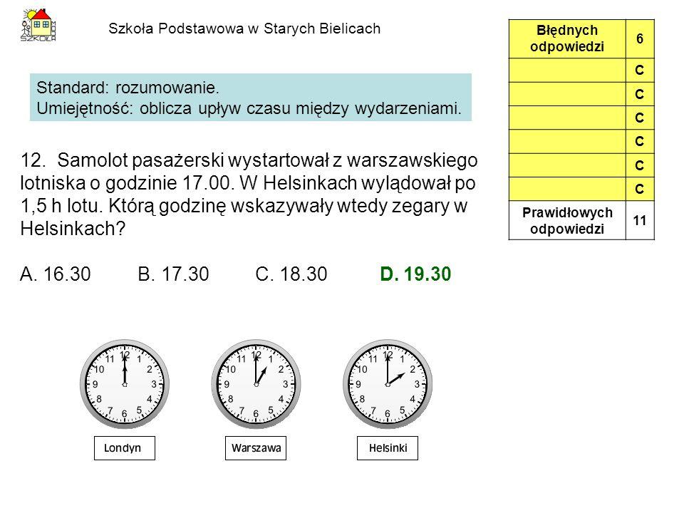 Szkoła Podstawowa w Starych Bielicach 12.
