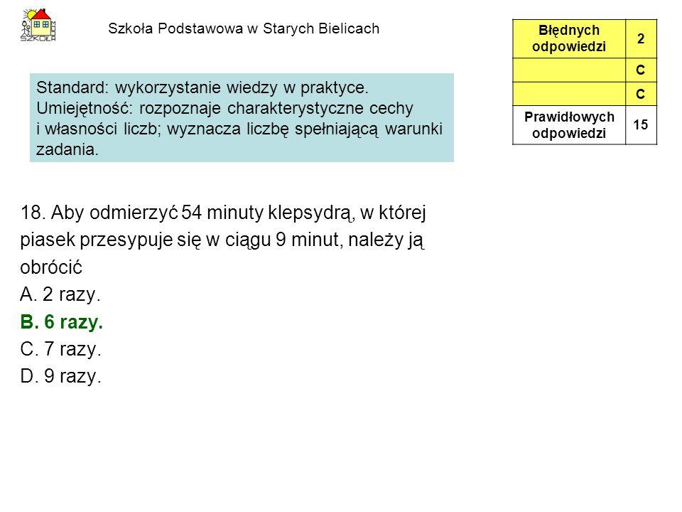 Szkoła Podstawowa w Starych Bielicach 18.