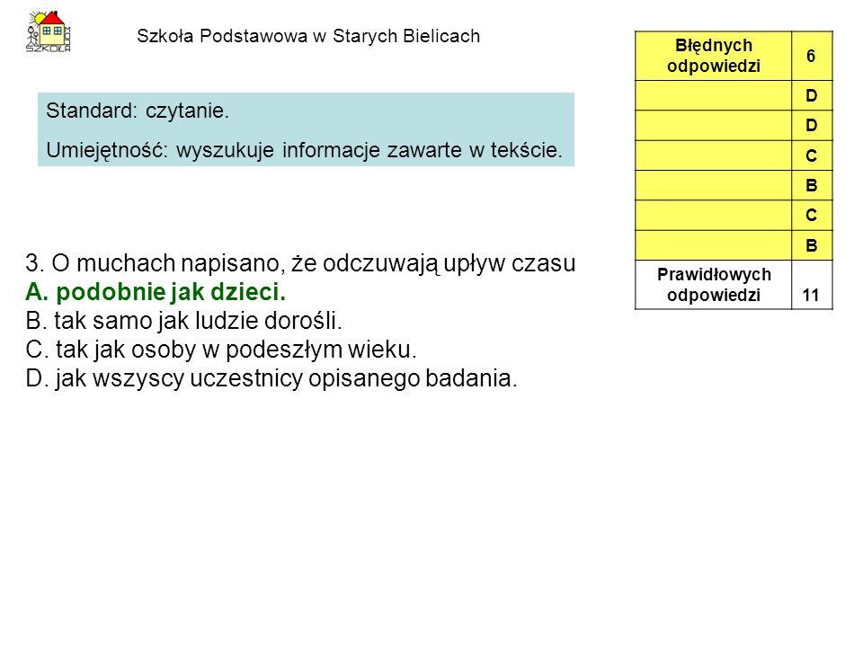 Szkoła Podstawowa w Starych Bielicach 26.