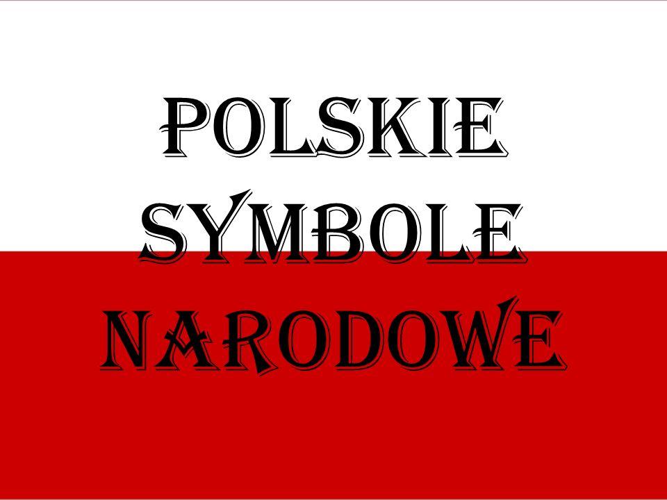 Flaga Pierwotnie polską barwą narodową był karmazyn uważany za najszlachetniejszy z kolorów.