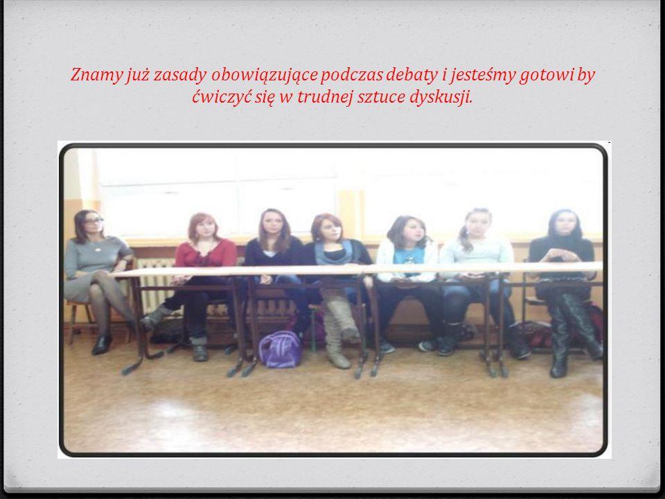 Wszystkim uczestnikom debaty dziękujemy za konstruktywną dyskusję i zachęcamy do udziału w kolejnym spotkaniu.