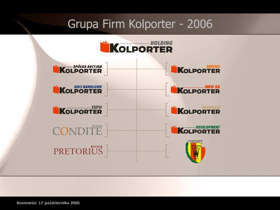 Grupa Firm Kolporter - 2006 Sosnowiec 17 października 2006