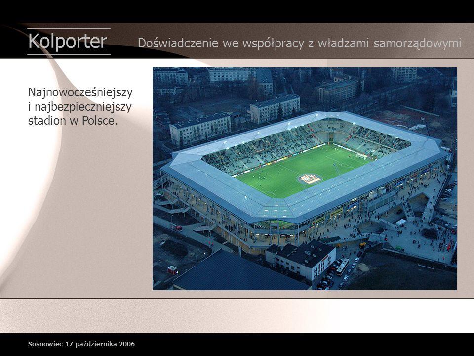 Najnowocześniejszy i najbezpieczniejszy stadion w Polsce.