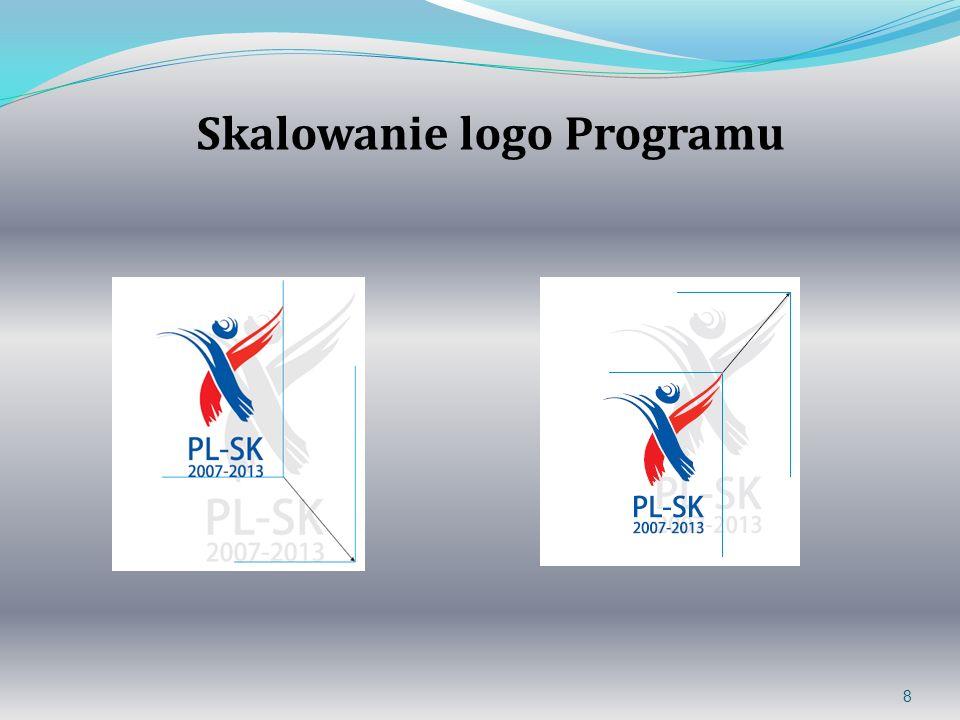 8 Skalowanie logo Programu