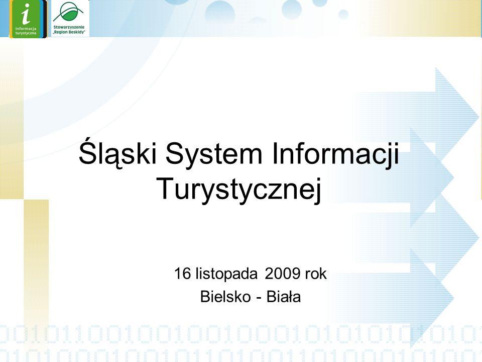 Oficjalne logo Śląskiego Systemu Informacji Turystycznej ŚOT – Śląska Organizacja Turystyczna PS - Partner Subregionalny BK – Beneficjent Końcowy