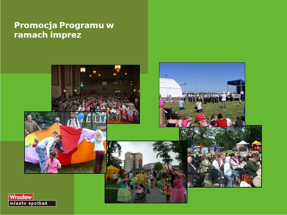 Promocja Programu w ramach imprez