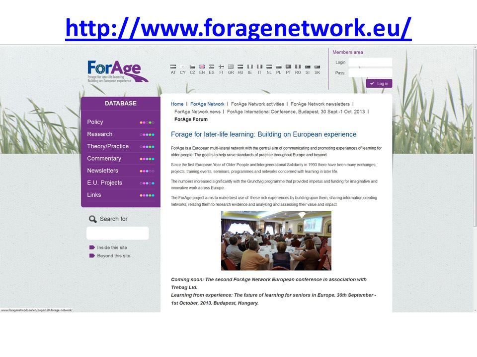 http://www.foragenetwork.eu/