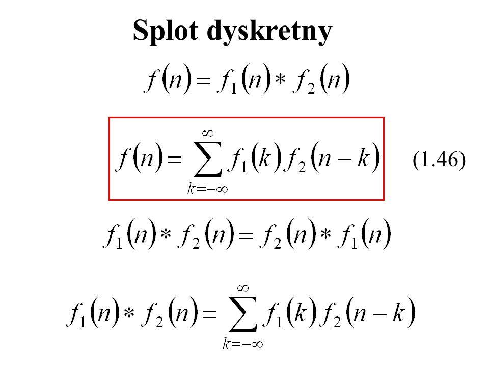 (1.46) Splot dyskretny