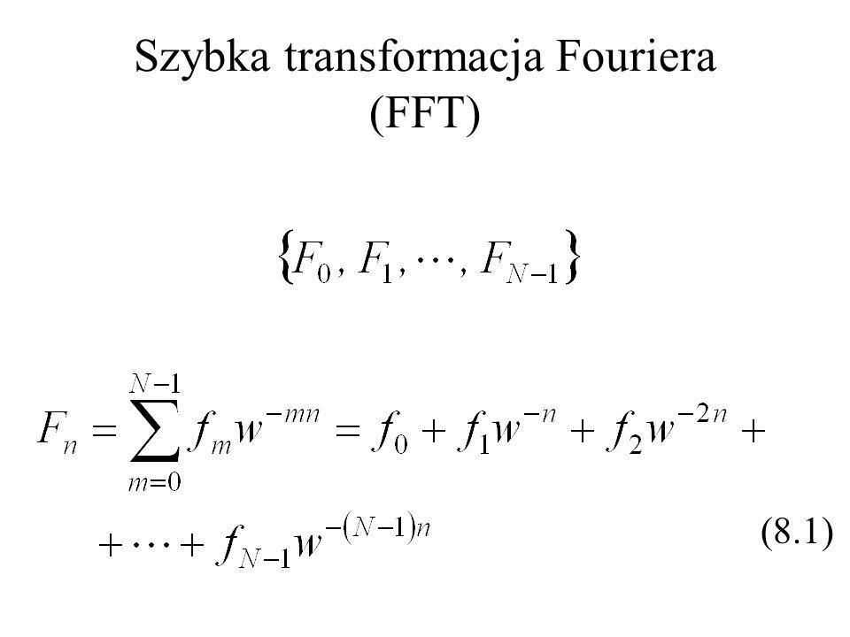 Szybka transformacja Fouriera (FFT) (8.1)