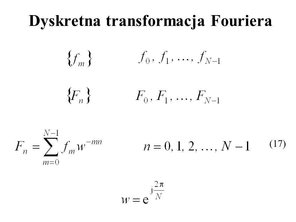 Dyskretna transformacja Fouriera (17)