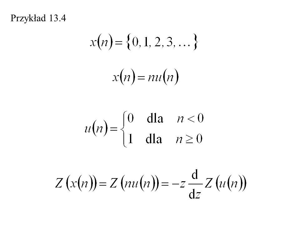 Przykład 13.4