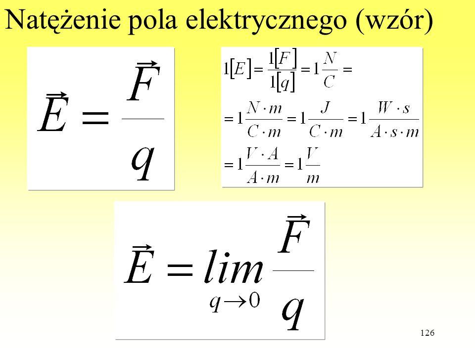 WdWI 2013 PŁ126 Natężenie pola elektrycznego (wzór)