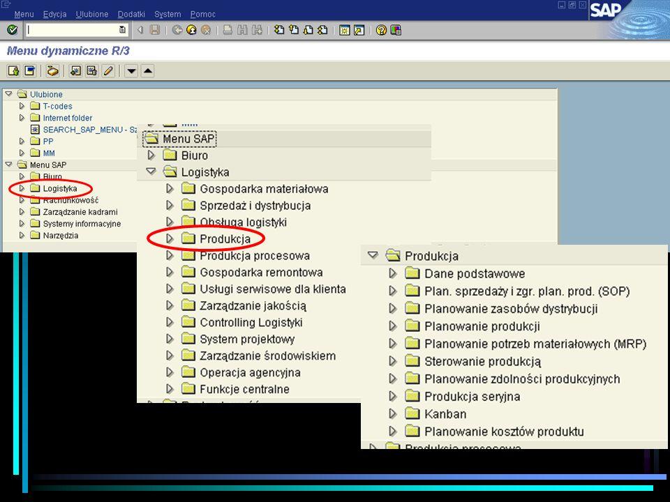 Architektura platformy – SAP R/3 Integracja funkcji logistycznych i finansowych