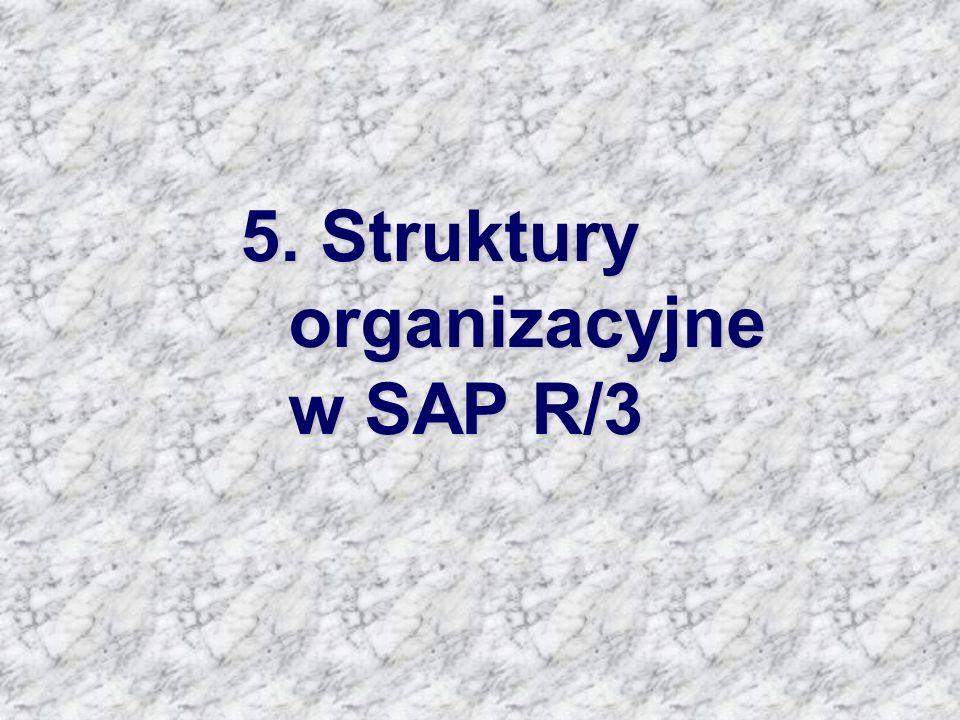 5. Struktury organizacyjne w SAP R/3