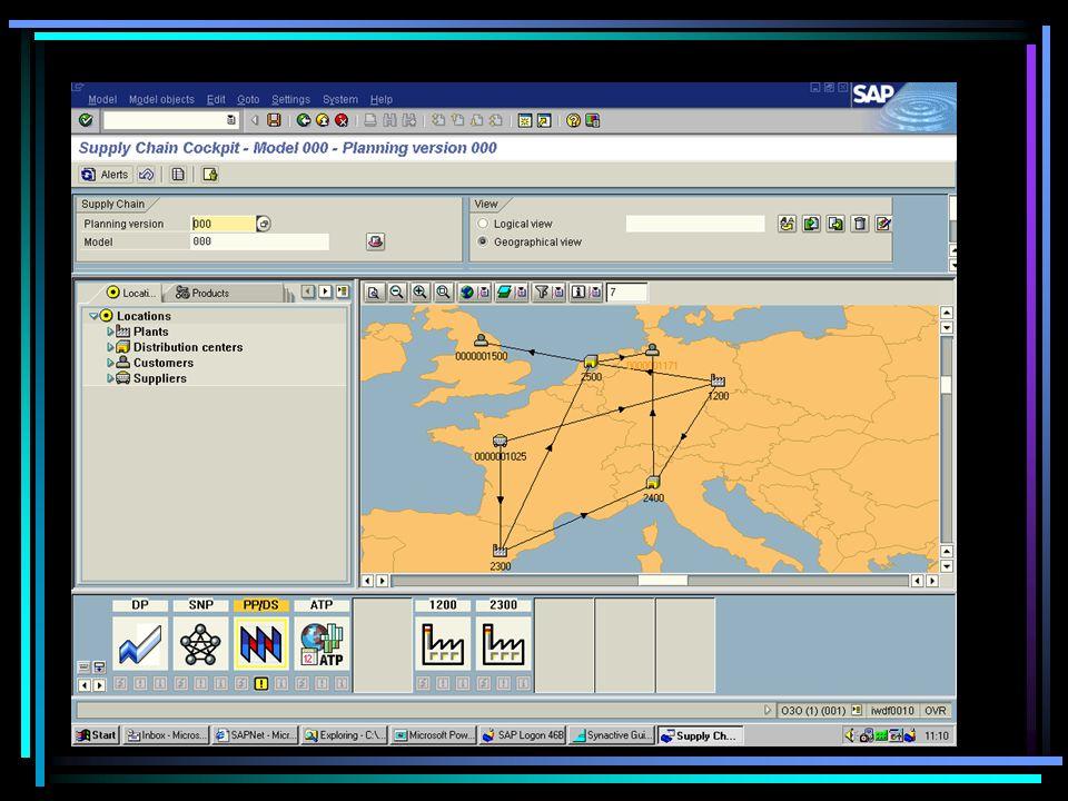 Navigation Tree Alert Monitor Shipment Schedule