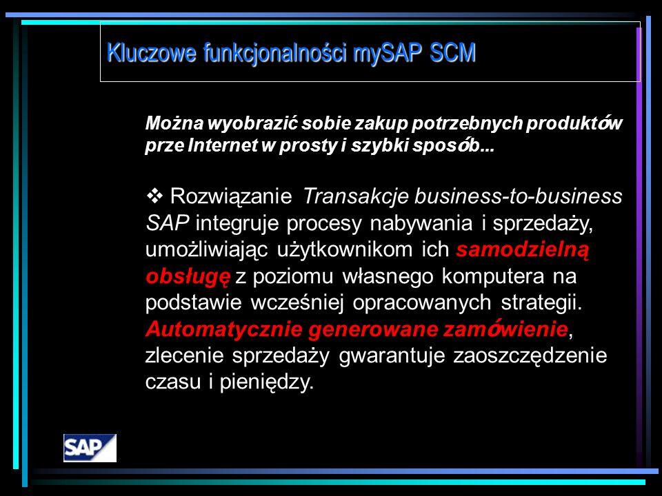 Można wyobrazić sobie tworzenie wiarygodnych harmonogram ó w, kt ó re mogą być w dynamiczny spos ó b modyfikowane... SAP APO – Planowanie produkcji i