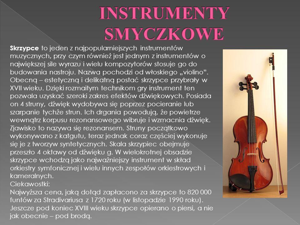 Skrzypce to jeden z najpopularniejszych instrumentów muzycznych, przy czym również jest jednym z instrumentów o największej sile wyrazu i wielu kompozytorów stosuje go do budowania nastroju.