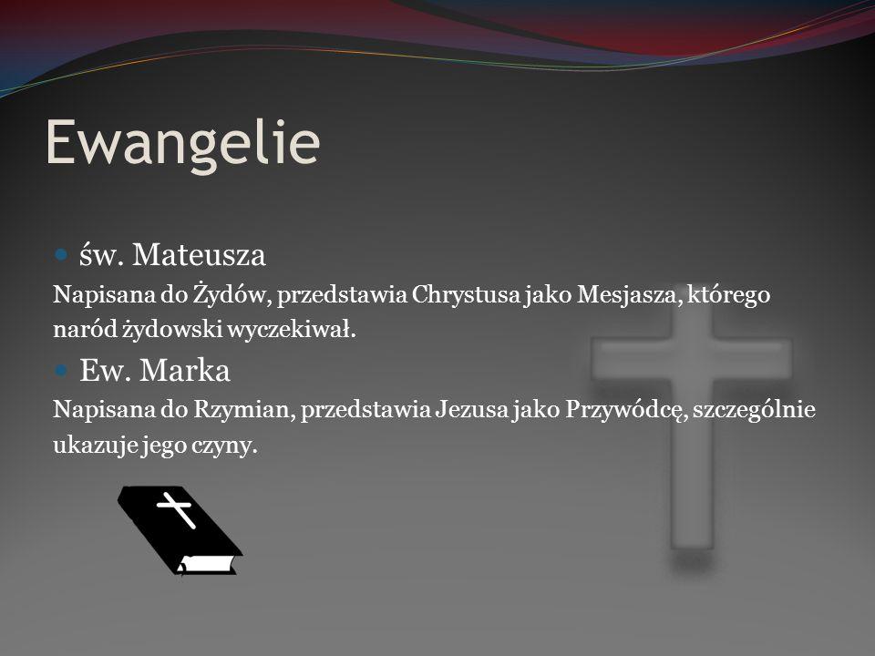 Ewangelie cd.Ew.