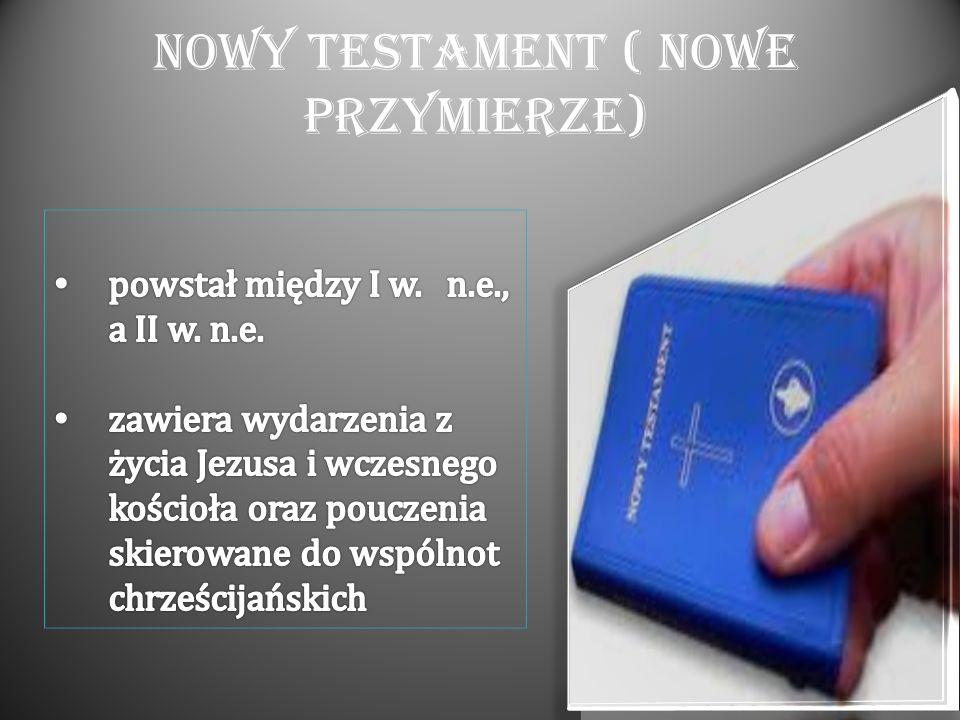 Nowy Testament ( Nowe Przymierze)