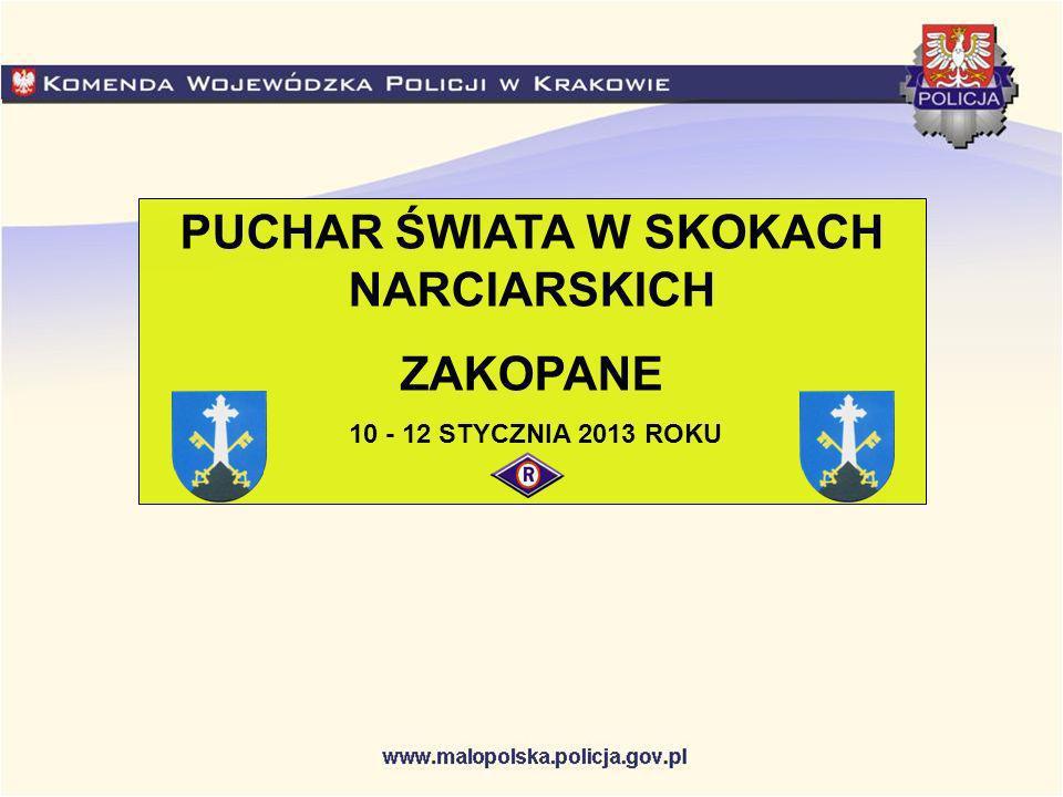 PUCHAR ŚWIATA W SKOKACH NARCIARSKICH ZAKOPANE 10 - 12 STYCZNIA 2013 ROKU