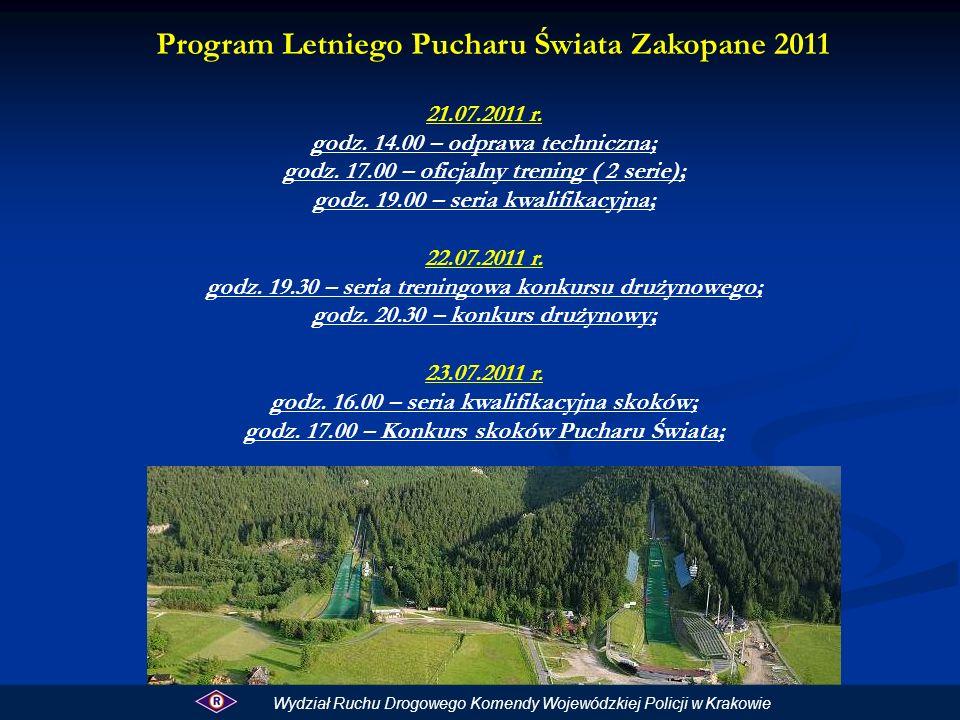 Ponadto na skoczni K 85 odbędzie się konkurs skoków narciarskich kobiet: 20.07.2011 Godz.