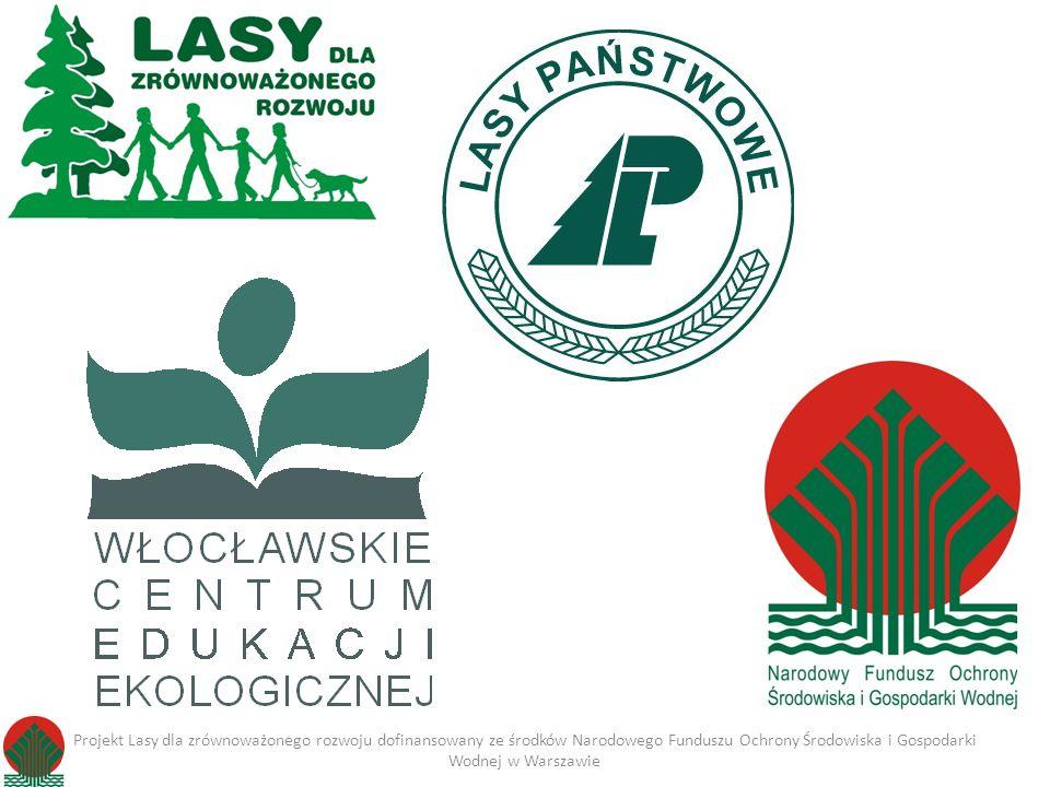 Projekt szkoleniowy przygotowany w ramach konkursu ogłoszonego przez Narodowy Fundusz Ochrony Środowiska i Gospodarki Wodnej w Warszawie 01 października 2011- 30 września 2013 Projekt Lasy dla zrównoważonego rozwoju dofinansowany ze środków Narodowego Funduszu Ochrony Środowiska i Gospodarki Wodnej w Warszawie