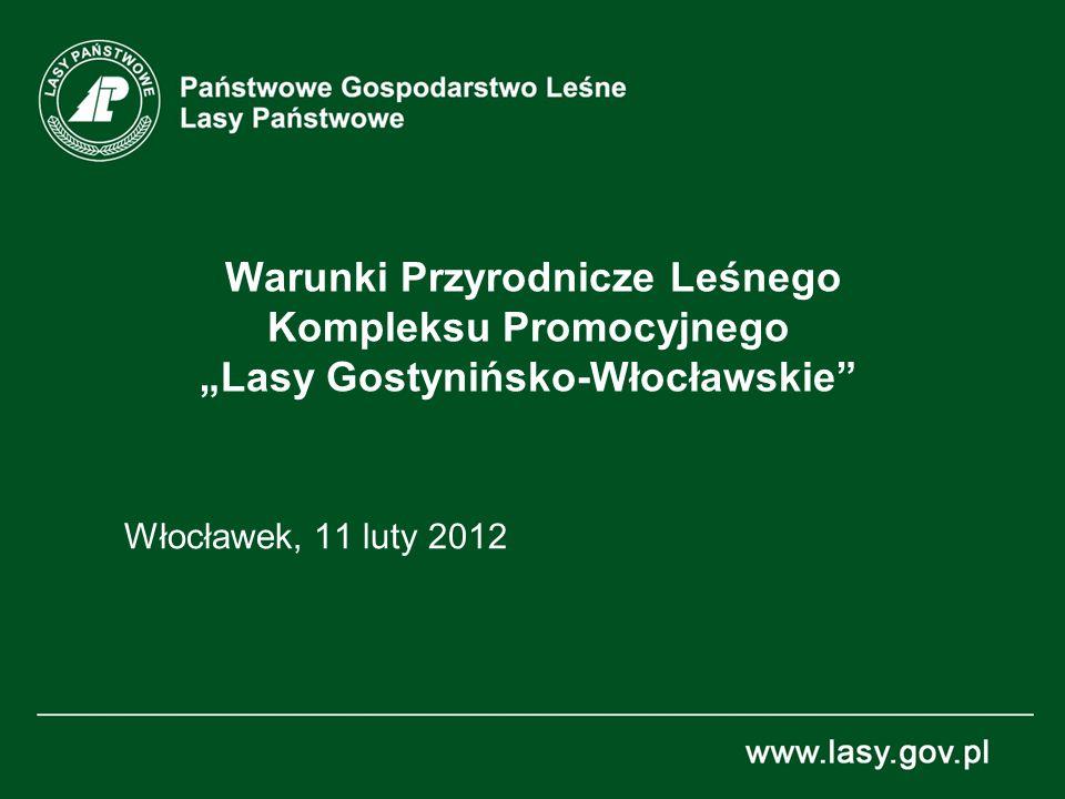 Warunki Przyrodnicze Leśnego Kompleksu Promocyjnego Lasy Gostynińsko-Włocławskie Włocławek, 11 luty 2012