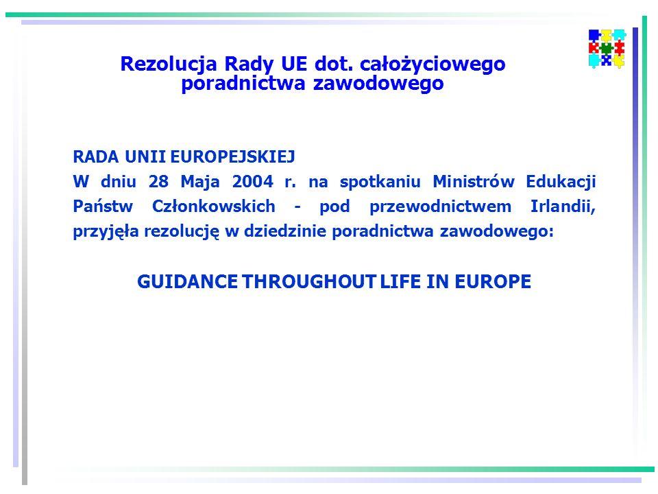 Rezolucja Rady UE dot.