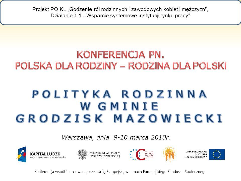 Warszawa, dnia 9-10 marca 2010r.