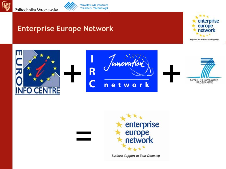 Enterprise Europe Network + = +