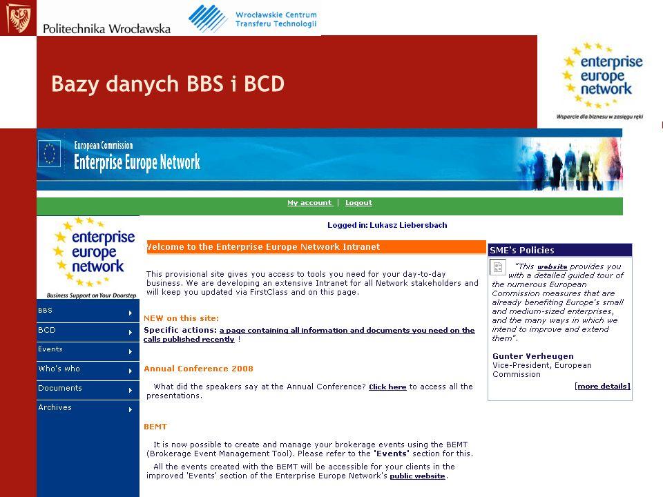 Bazy danych BBS i BCD