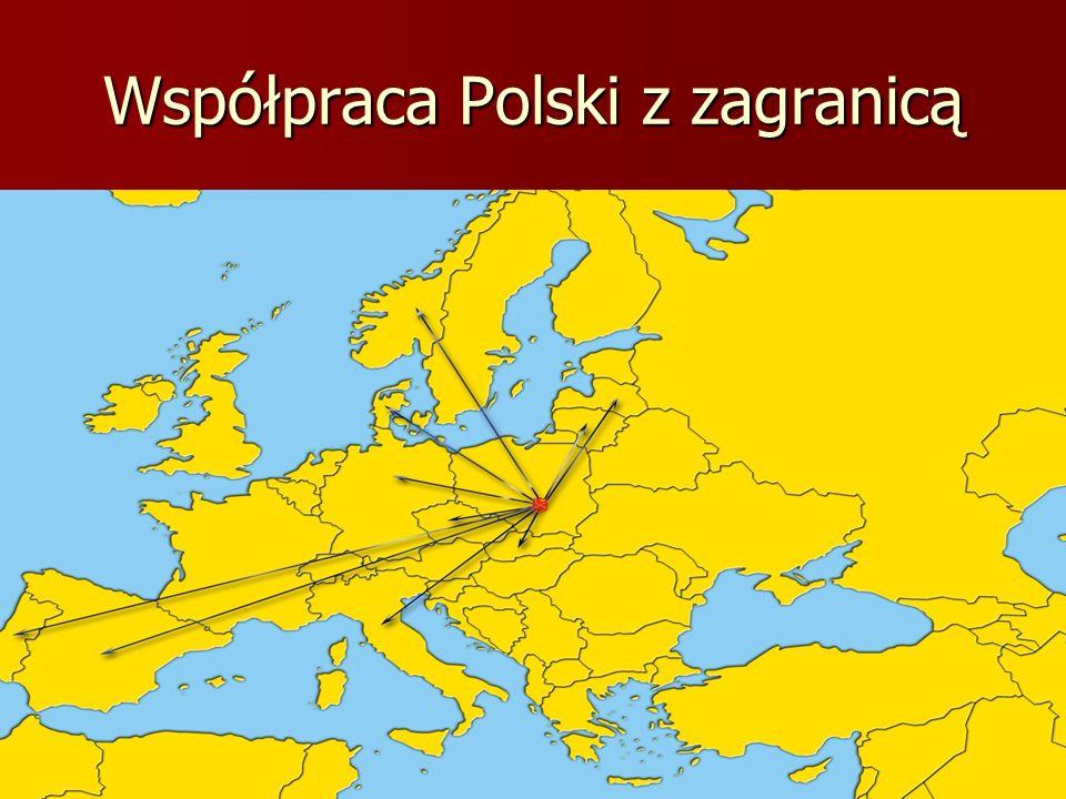 Współpraca Polski z zagranicą