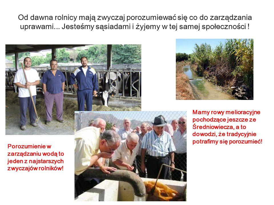 Rolnicy łatwo dochodzą do porozumienia.Zazwyczaj rozmawiamy między sobą.