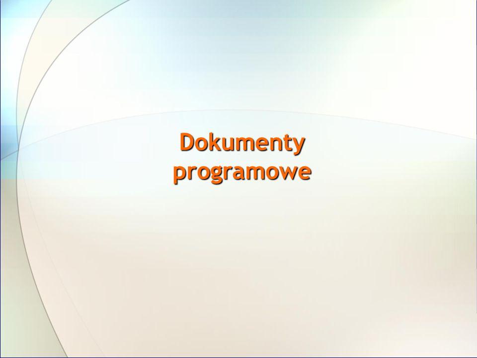 Dokumenty niezbędne dla beneficjenta Program Operacyjny Szczegółowy Opis Priorytetów PO KL System Realizacji PO KL Plan Działania Dokumentacja konkursowa Umowa o dofinansowanie projektu Wniosek aplikacyjny Wniosek o płatność